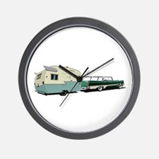 Hittin' the Road Wall Clock