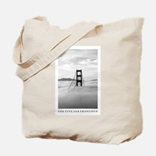 SF Bay Green Tote Bag
