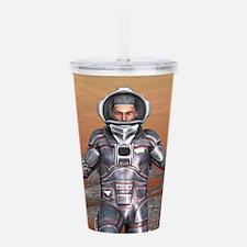 Astronaut Acrylic Double-wall Tumbler