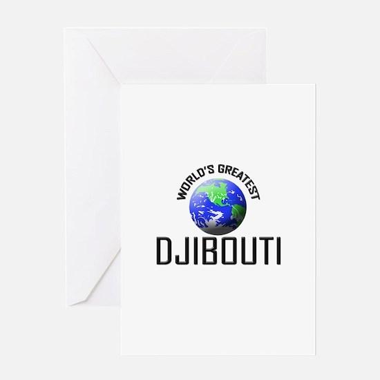 World's Greatest DJIBOUTI Greeting Card
