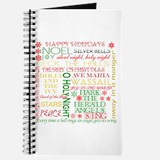 Christmas Carols Journal