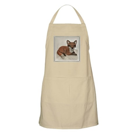 Fox Portrait Design BBQ Apron
