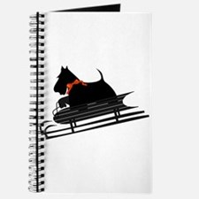 Scottish Terrier Sledding Journal