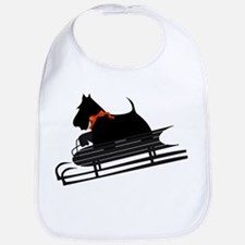 Scottish Terrier Sledding Bib