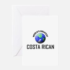 World's Greatest COSTA RICAN Greeting Card