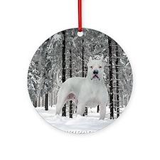 Winter Ornament (Round)