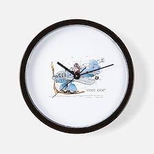 Cool Ride Wall Clock