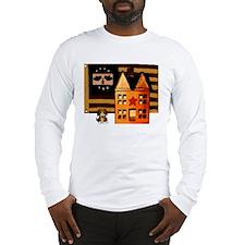 Promitive Art House , Flag ,a Long Sleeve T-Shirt