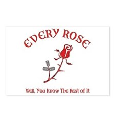 Every Rose Postcards (Package of 8)