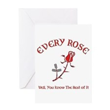 Every Rose Greeting Card