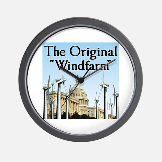 "The Original ""Windfarm"" Wall Clock"