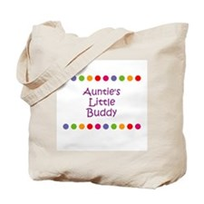 Auntie's Little Buddy Tote Bag
