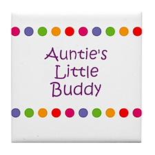Auntie's Little Buddy Tile Coaster