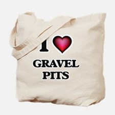 I love Gravel Pits Tote Bag