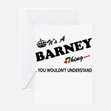 BARNEY thing, you wouldn't understa Greeting Cards