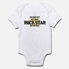 Dentist RockStar by Night Infant Bodysuit