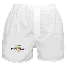 Dentist RockStar by Night Boxer Shorts