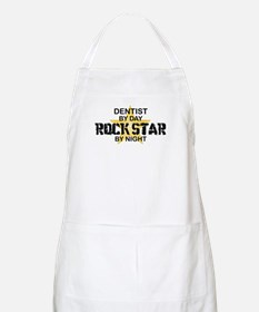 Dentist RockStar by Night BBQ Apron