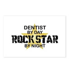 Dentist RockStar by Night Postcards (Package of 8)