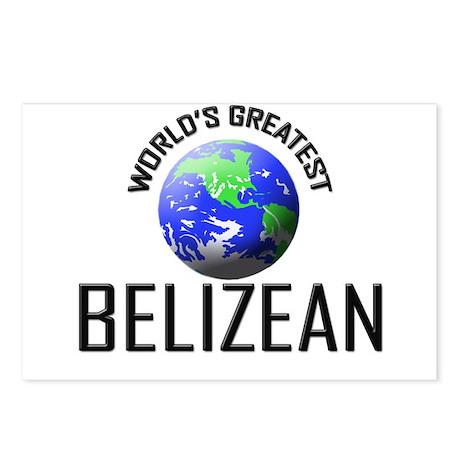 World's Greatest BELIZEAN Postcards (Package of 8)