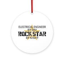 Electrical Engineer RockStar Ornament (Round)