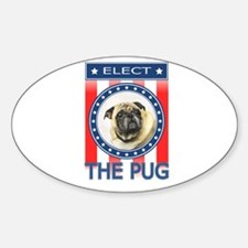 Elect The Pug Decal