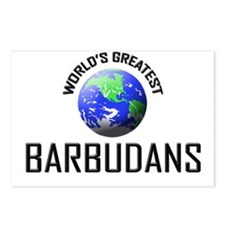 World's Greatest BARBUDANS Postcards (Package of 8