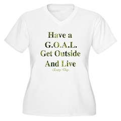 GOAL - Get Outside And Live T-Shirt