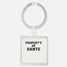 Property of DANTE Keychains
