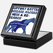 Unicorns Support Batten Disease Aware Keepsake Box