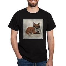 Fox Resting Design T-Shirt