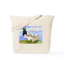 Cute Cocker spaniel rescue Tote Bag