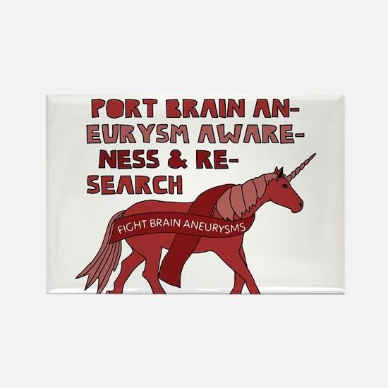 Unicorns Support Brain Aneurysm Awareness Magnets