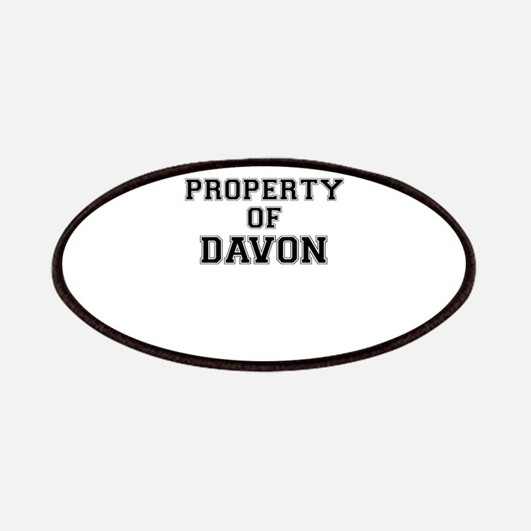 Property of DAVON Patch