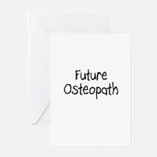 Future Osteopath Greeting Cards (Pk of 10)