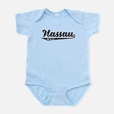 Nassau Bahamas Retro Logo Body Suit