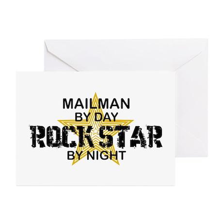 Mailman Rock Star Greeting Cards (Pk of 10)