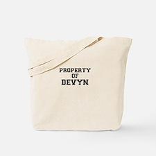 Property of DEVYN Tote Bag