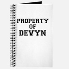 Property of DEVYN Journal