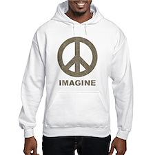 Vintage Imagine Peace Hoodie