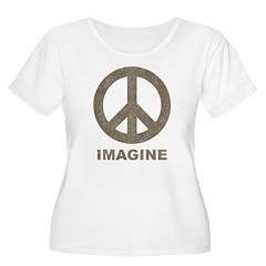 Vintage Imagine Peace T-Shirt