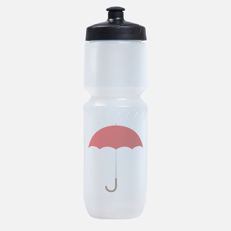 Red Umbrella Sports Bottle