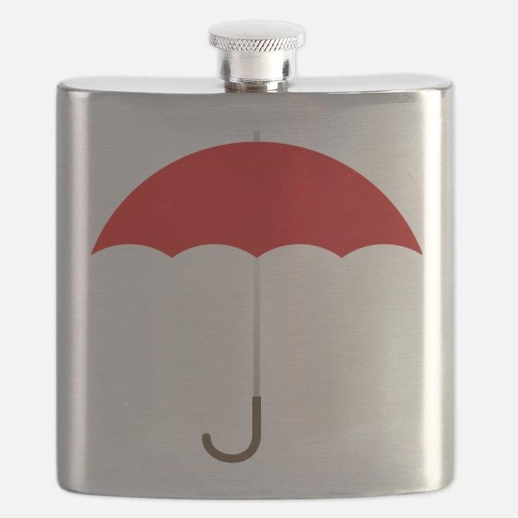 Red Umbrella Flask
