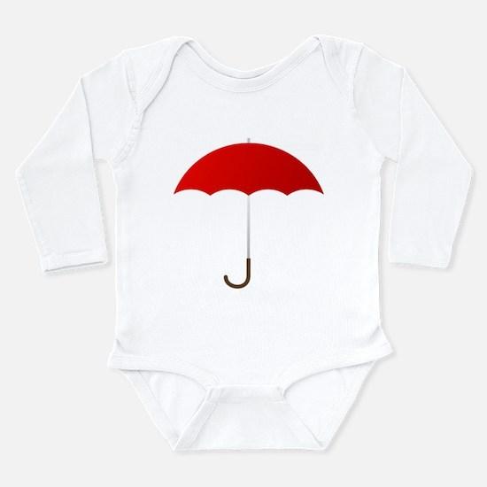 Red Umbrella Body Suit