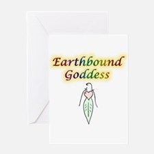 Earthbound Goddess Greeting Card