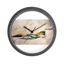 Unique F 4 Wall Clock