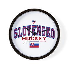 SK Slovakia Slovensko Hockey Wall Clock