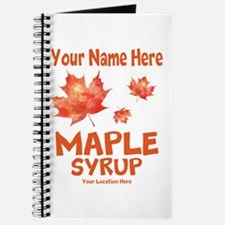 Your Maple Syrup Journal