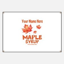 Your Maple Syrup Banner