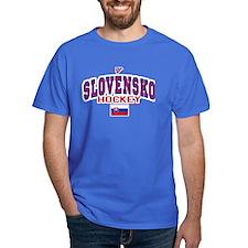 SK Slovakia Slovensko Hockey T-Shirt
